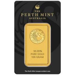 Sztaba złota LBMA 100 g