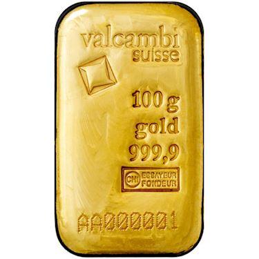 Sztaba złota niesortowana 100 g 24H